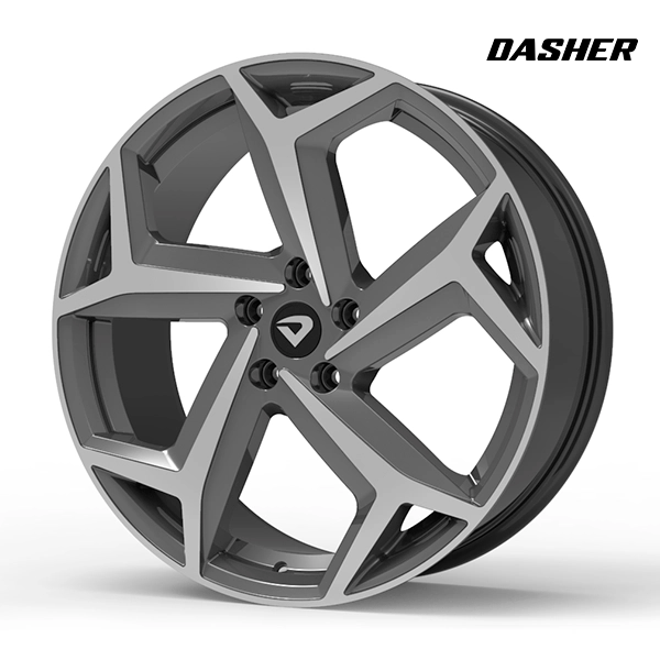 "Roda Volcano DASHER Aro 20"" tala 7,5"" Grafite brilhante diamantado"