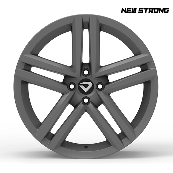 "Roda Volcano NEW STRONG Aro 18"" tala 7"" Grafite Fosco"