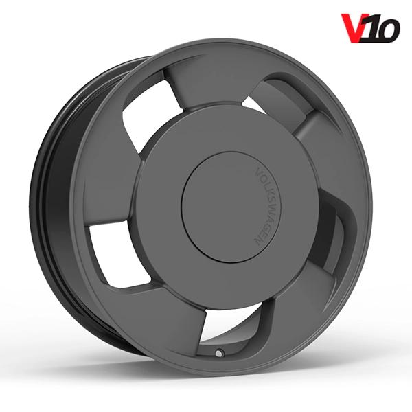"Roda Volcano V-10 (ORBITAL) - Aro 18"" tala 6"" Grafite Fosco"