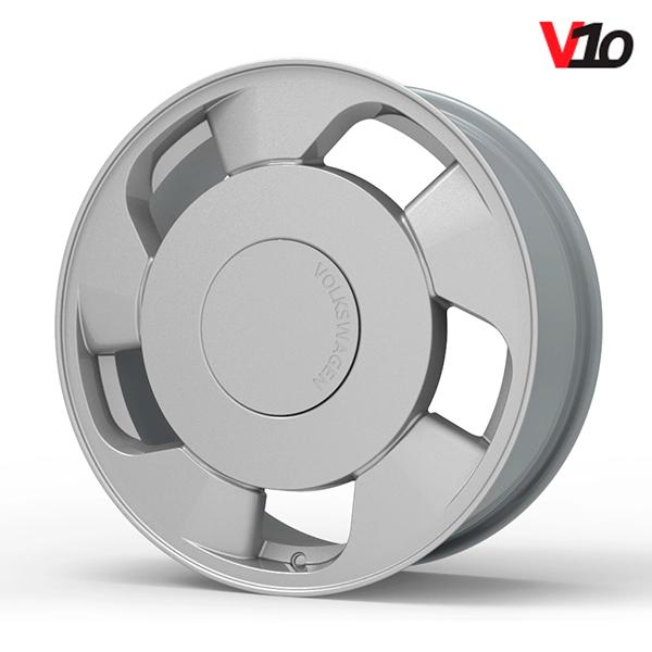 """Roda Volcano V-10 (ORBITAL) - Aro 18"""" tala 6"""" Prata"""