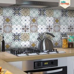 Adesivo de azulejo Mix Valentina