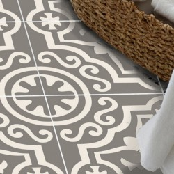 Adesivo para piso lavavel antiderrapante ladrilho de Marrocos