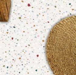 Adesivo piso granilito Terrazzo vinil lavavel antiderrapante