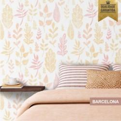 Papel de parede floral Barcelona