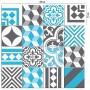 Adesivo de Azulejo Mix Peniche Azul