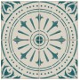 Adesivo para piso ladrilho portugues verde lavavel antiderrapante