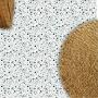 Adesivo piso granilito Terrazzo verde vinil lavavel antiderrapante