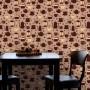 Papel de Parede Café Bules e xícaras