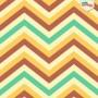 Papel de parede chevron colorido