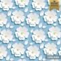 Papel de parede floral 3D cerejeira