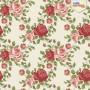 Papel de parede floral rosas vermelhas