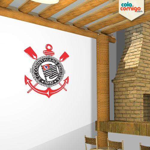 Adesivo Escudo Corinthians
