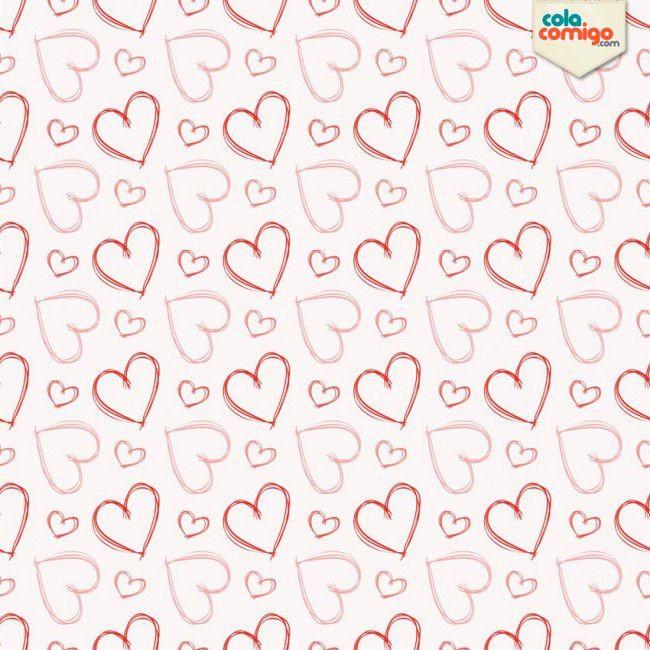 Papel de parede corações