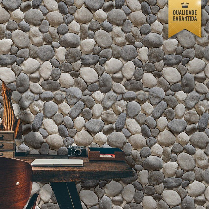 Papel de parede pedras arredondadas