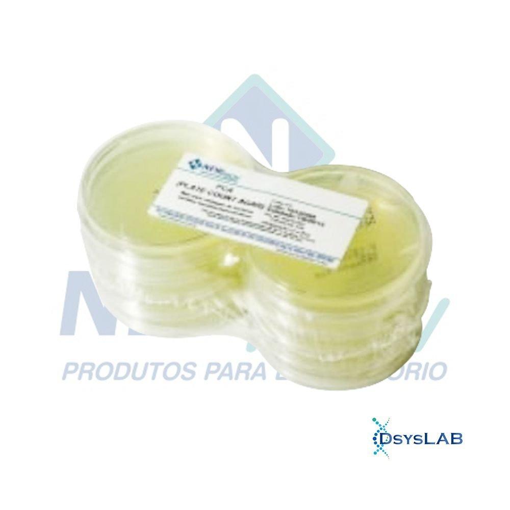 Agar Batata Dextrose Em placa de Petri 90x15mm NEWPROV