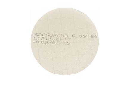 Agar Sabaroud 4% 20 mL Em placa de Petri 90x15mm LABORCLIN
