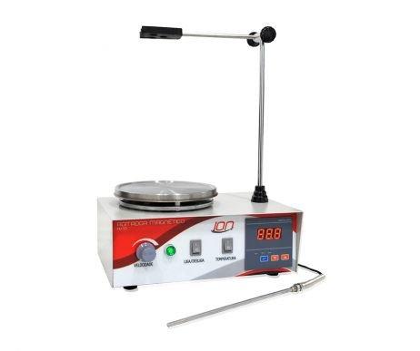 Agitador Magnético com aquecimento Até 350ºC 2400 RPM WARMNEST