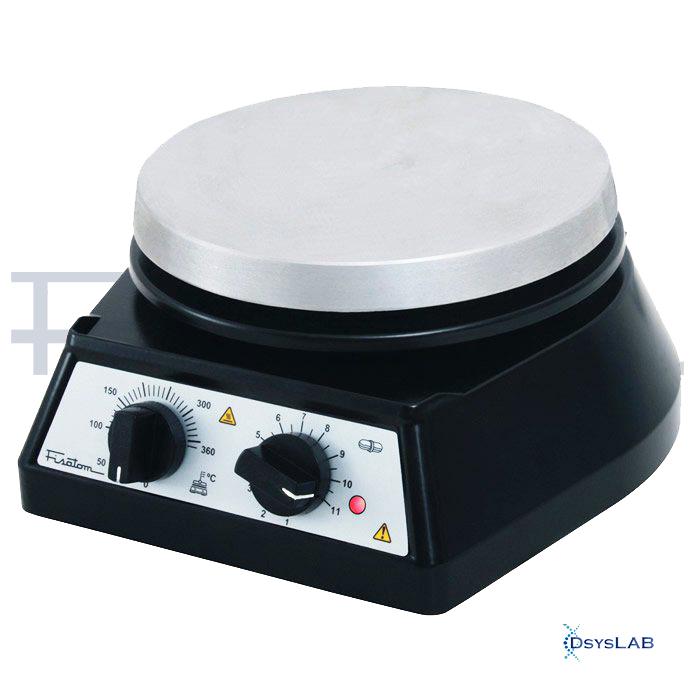 Agitador Magnético com aquecimento Tampa de alumínio Até 1800 RPM FISATOM