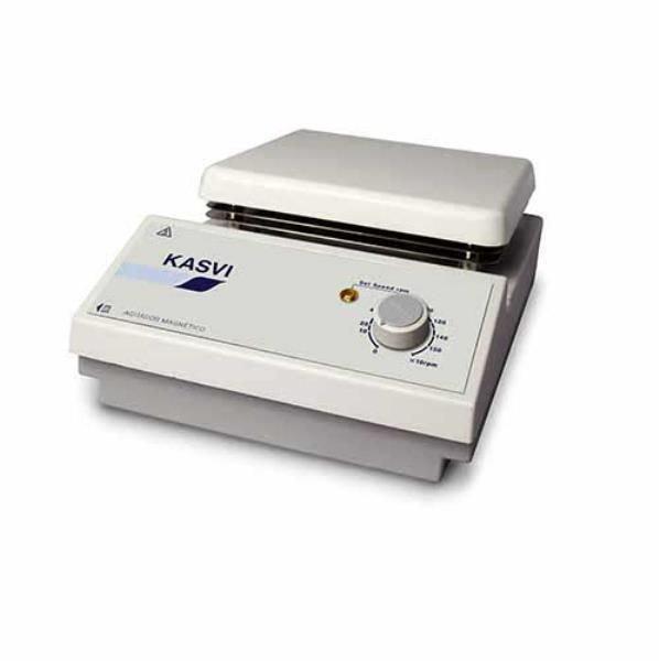 Agitador Magnético sem aquecimento 5 litros Até Até 380ºC 1500 RPM KASVI