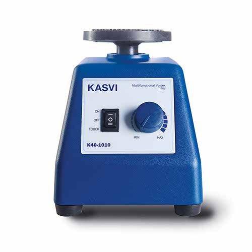Agitador Vortex multifuncional Até 3300 RPM KASVI