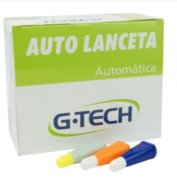 Auto Lanceta  Estéril G-TECH