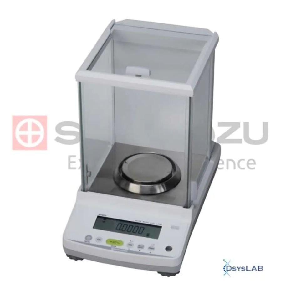 Balança Eletrônica analítica Calibração automática interna  0,0001g SHIMADZU