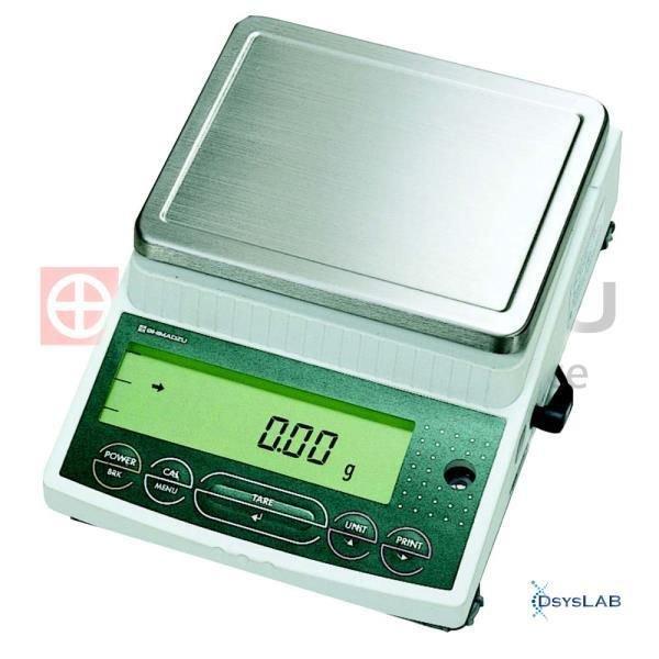 Balança Eletrônica semi-analítica Calibração externa  0.01g SHIMADZU