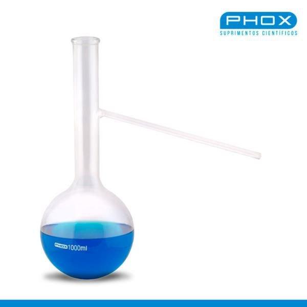 Balão Destilação (Fundo redondo) Borossilicato  PHOX