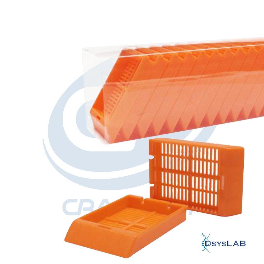 Cassete Para biopsia (automação) Sem tampa CRALPLAST