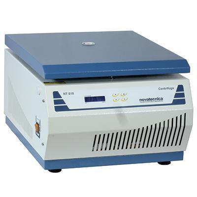 Centrífuga Digital Multirotores Com rotor de ângulo fixo incluso para (28x15 mL) Até 5000 RPM NOVATECNICA