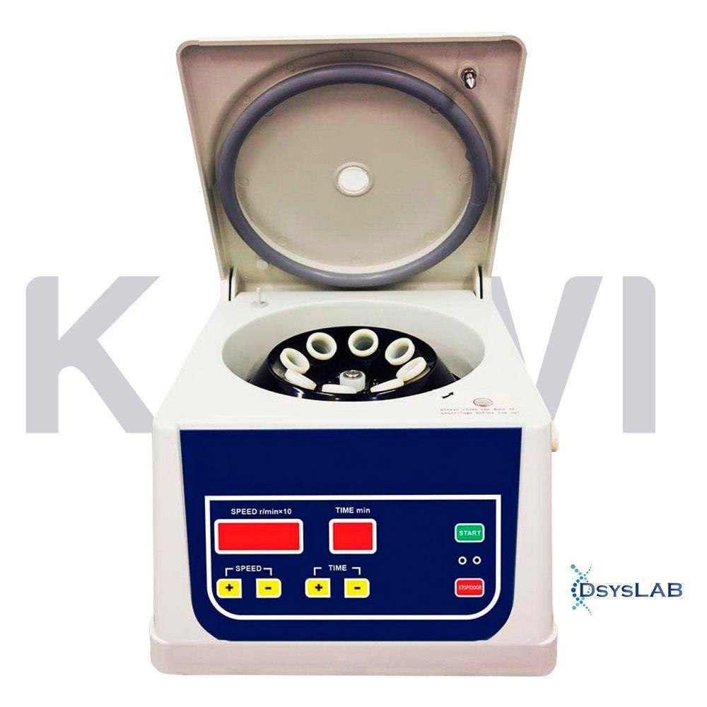 Centrífuga  Digital  Com rotor de ângulo fixo incluso para (8x15 mL) Até 4000 RPM KASVI