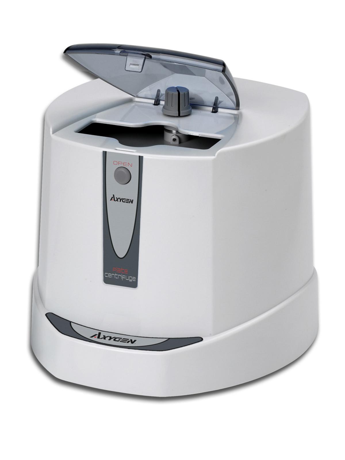 Centrífuga Analógica Com rotor incluso para (2 placas de PCR) Até 2500 RPM AXYGEN