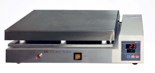 Chapa aquecedora Até 300ºC 40x30 cm Aço SATRA