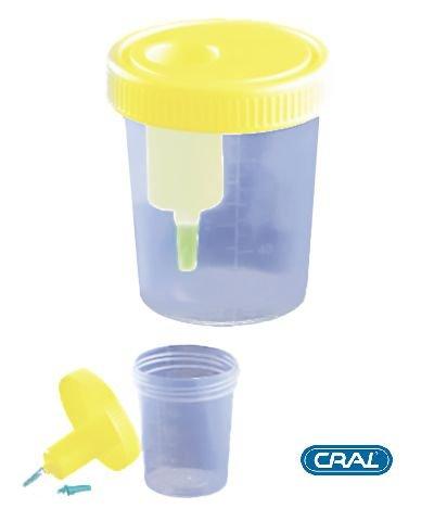 Coletor Urina Sistema Transferência     Estéril   CRALPLAST