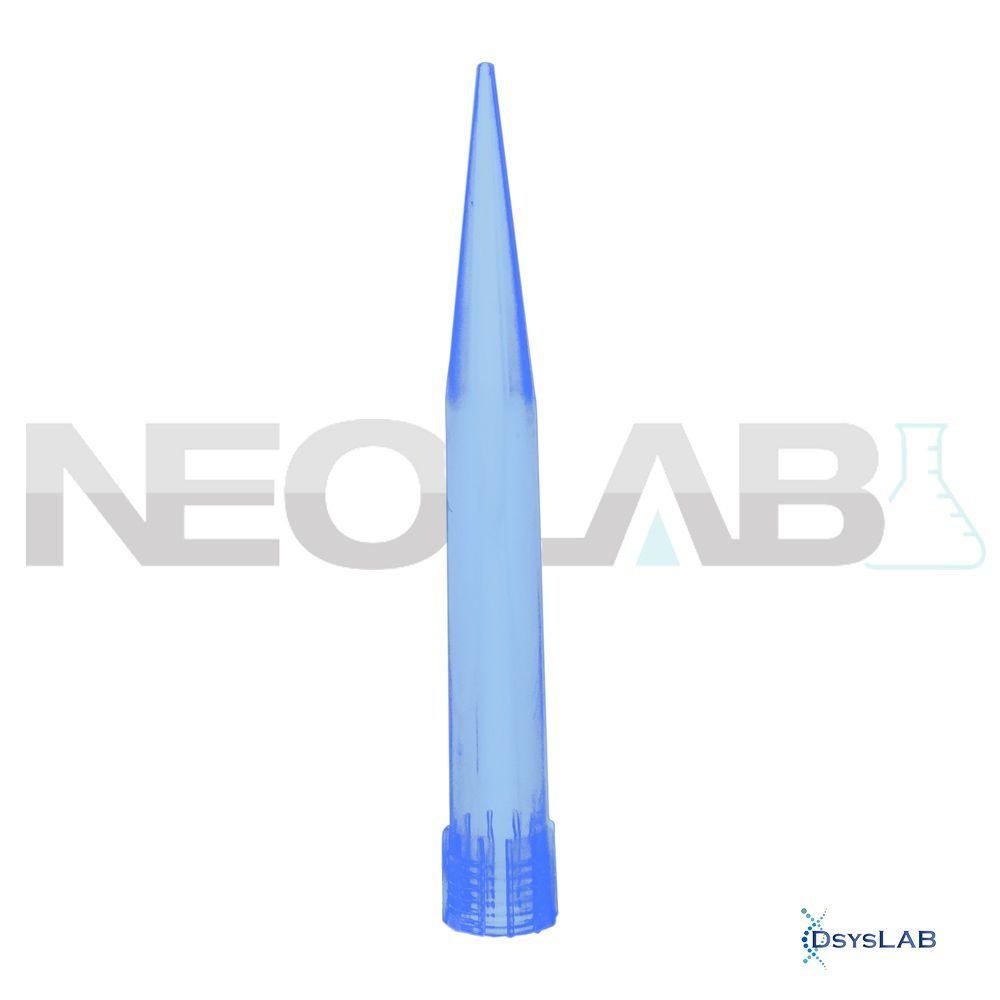 Ponteira Tipo Eppendorf Comum Sem Filtro Não Estéril Azul Neoplast