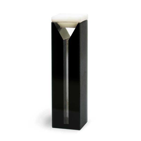 Cubeta Quartzo ES 2 faces polidas escuras Passo 10 mm Com tampa de PTFE KASVI