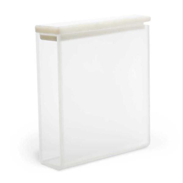 Cubeta Quartzo ES 2 faces polidas Passo 40 mm Com tampa de PTFE KASVI