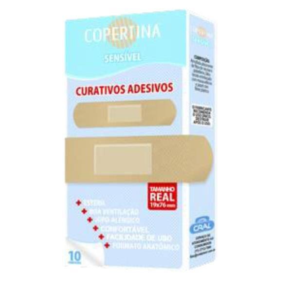 Curativo Adesivo bege Estéril Almofadado COPERTINA