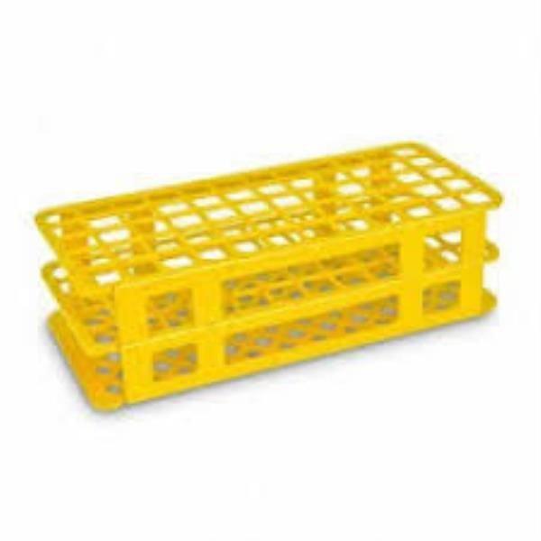 Estante Para tubos Polipropileno (PP) Amarelo Não autoclavável J.PROLAB