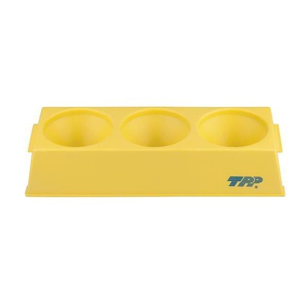 Estante (rack) Para tubos biorretador Polipropileno (PP) Amarelo Autoclavável TPP