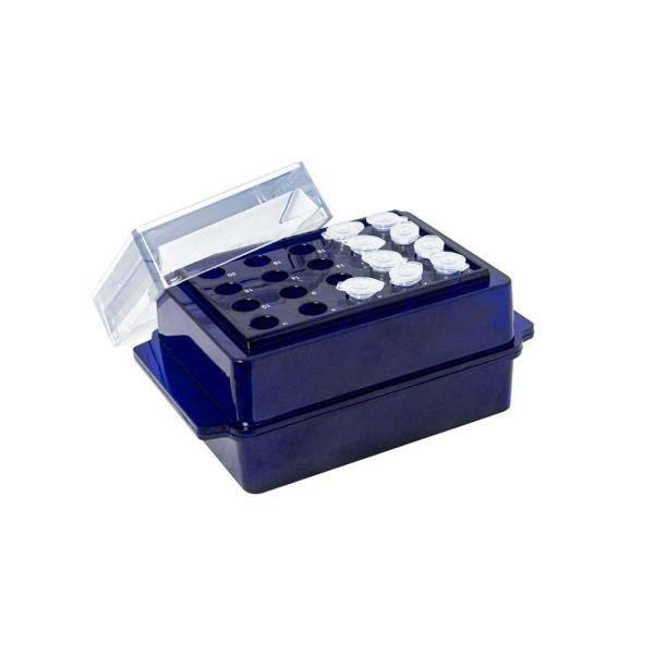 Estante (rack) Termoestável dupla face Polipropileno (PP) Azul Autoclavável KASVI