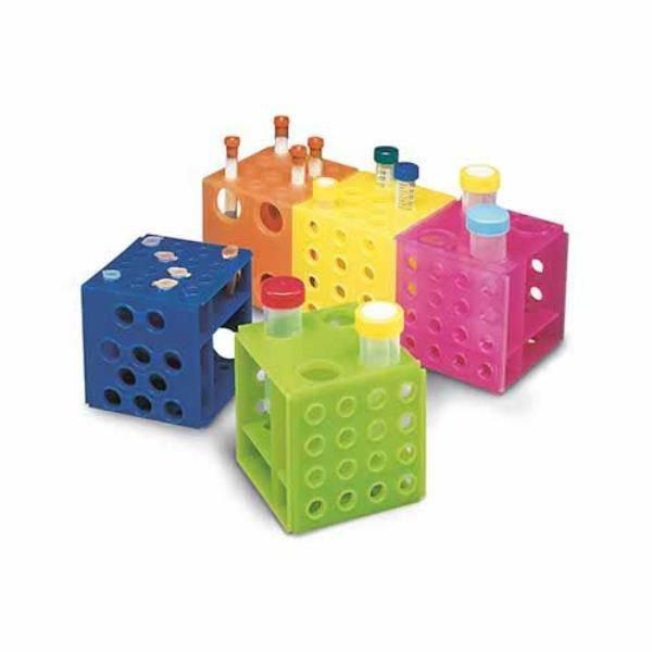 Estante (rack) Tipo cubo Polipropileno (PP) Cores sortidas Não autoclavável KASVI