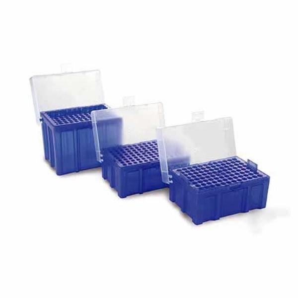 Estante (rack) Vazio para ponteiras Polipropileno (PP) Azul Autoclavável KASVI
