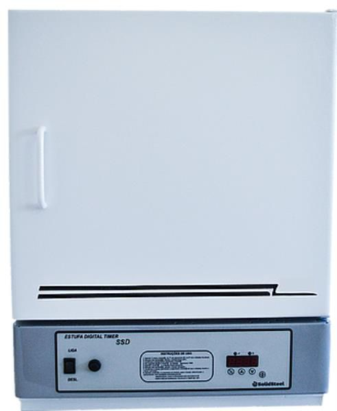 Estufa Esterilização e secagem Digital 5ºC à 250ºC SOLIDSTEEL