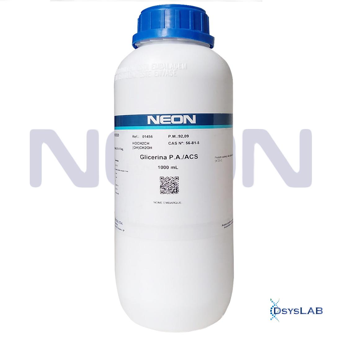 Glicerina P.A/ACS Neon