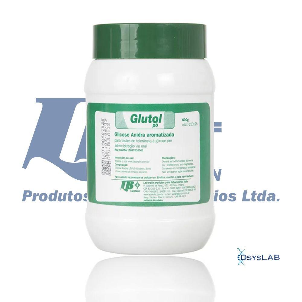 Glutol Para teste de tolerância a glicose Pó LABORCLIN