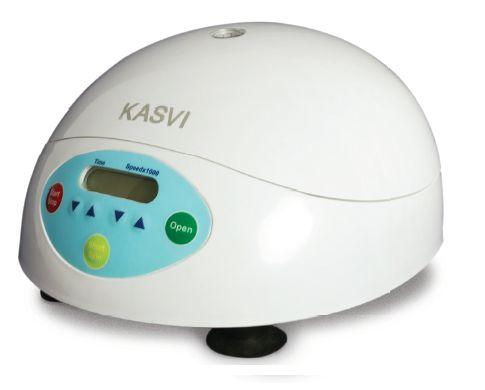 Microcentrífuga  Digital  Com rotor de ângulo fixo incluso para (12x1,5/2 mL) Até 15000 RPM KASVI