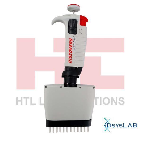 Micropipeta 12 canais Discovery Comfort HTL