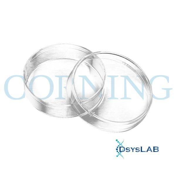 Placa de Petri Cultivo Celular Superficie Tratada Estéril s/ Divisão CORNING