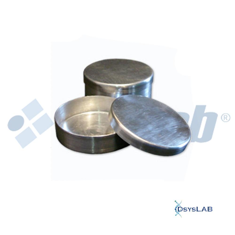 Placa de Petri Microbiologia Alumínio Não Estéril s/ Divisão RICILAB